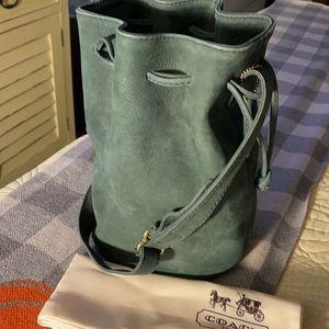 Coach Sonoma Nubuc Leather Drawstring Bag/Bucket
